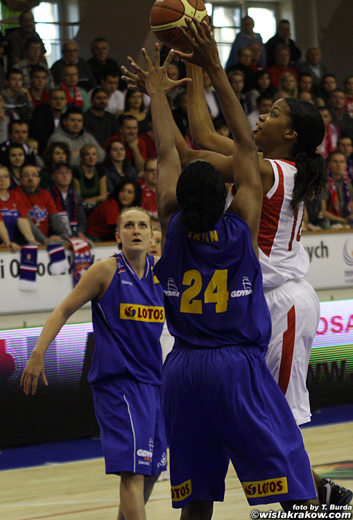 Wis�a Can-Pack Krak�w - Lotos Gdynia 82:54 - fot. nr 1