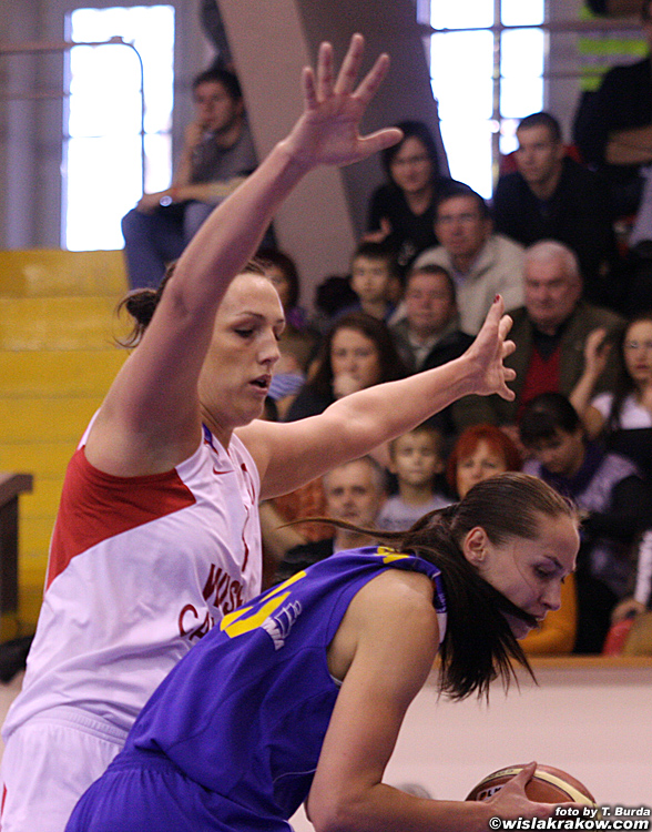 Wis�a Can-Pack Krak�w - Lotos Gdynia 82:54 - fot. nr 2