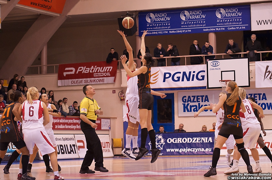 Wis�a Can-Pack Krak�w -  CCC Polkowice 67:53 - fot. nr 3