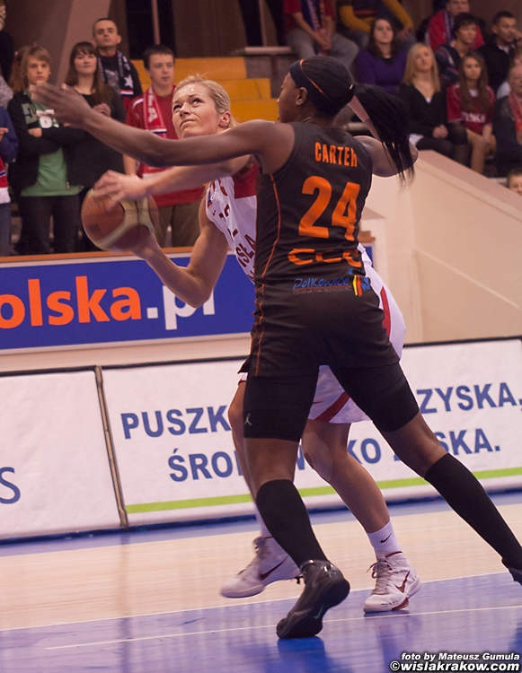 Wis�a Can-Pack Krak�w -  CCC Polkowice 67:53 - fot. nr 9