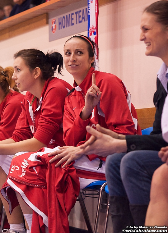 Wis�a Can-Pack Krak�w -  CCC Polkowice 67:53 - fot. nr 10