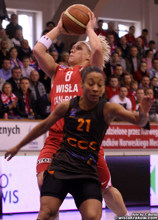 Wis�a Can-Pack - CCC Polkowice 64:52 - fot. nr 6