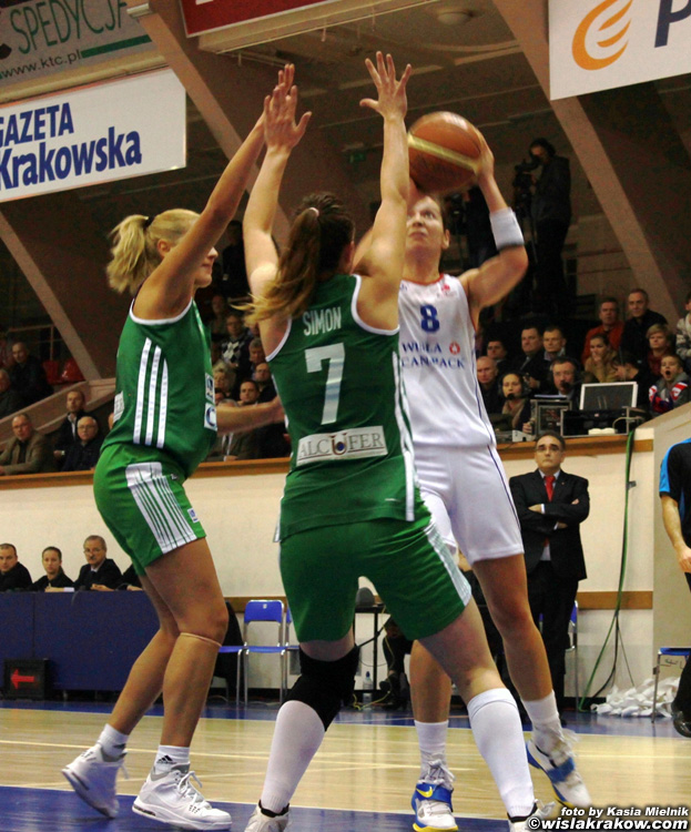 Wis�a Can-Pack - Uni Gyor 62:67 - fot. nr 8