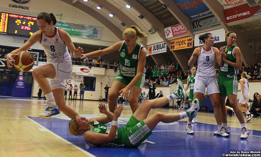 Wis�a Can-Pack - Uni Gyor 62:67 - fot. nr 10